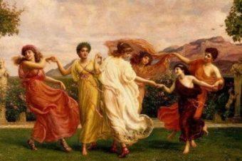Словарь символов: ГОРЫ (хоры, оры) — дочери Зевса и Фемиды