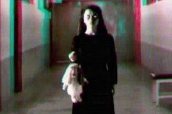 Призрак, гуляющий по улице