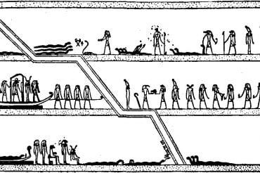 Египетская «Книга мертвых». Книга Амдуат. Глава 4.