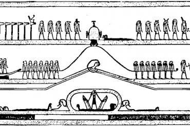 Египетская «Книга мертвых». Книга Амдуат. Глава 5.