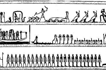 Египетская «Книга мертвых». Книга Амдуат. Глава 7.
