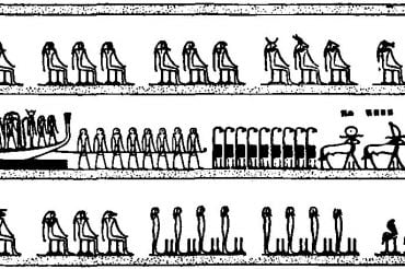 Египетская «Книга мертвых». Книга Амдуат. Глава 8.