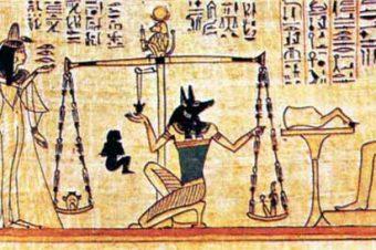 Путь египтянина после смерти. Погребальный обряд.