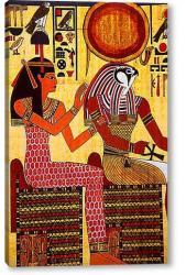 Глава приближения к вождям Татау бога Осириса (Египетская «Книга мертвых»)