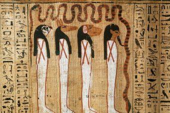 Глава о вхождении в зал богини Myт (Египетская «Книга мертвых»)