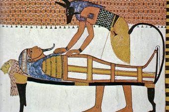 Глава о том, как телу умершего войти в инобытие в день погребального обряда, когда следующие слова следует говорить (Египетская «Книга мертвых»)
