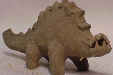 Коллекция фигурок динозавров с людьми Вальдемара Джульсруда