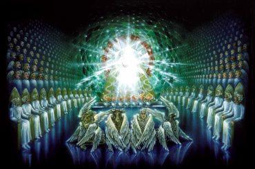Видения неба. Жилища праведных. Престол Бога. Движения Солнца и Луны. Видение принципов строения Вселенной. («Книга Еноха»)