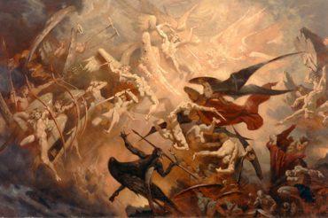 Война богов. Свержение Люцифера (Джессика Джонс «Спросите древние дорожки» НОВЫЙ ПЕРЕВОД 2-ГО ИЗДАНИЯ, 2013 год)