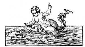 Мальчик на дельфине в трактовке периода Ренессанса. В.Картари, 1647 г.