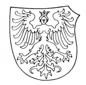 """Дева. """"Орел девственницы"""". Средневековый геральдический образ"""