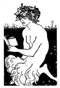 Дикие люди: Цивилизованный сатир. Обри Бердсли (1872— 1898)