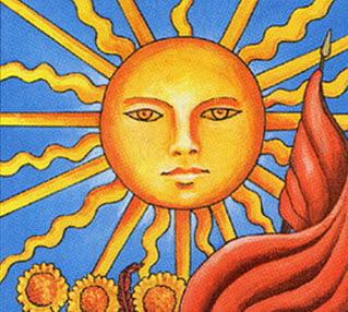 Аркан Таро «Солнце»